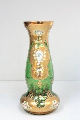 2019X: Bohemian glass vase