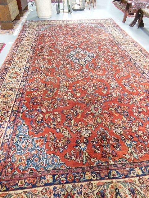 Persian Sarouk rug ca. 1930's