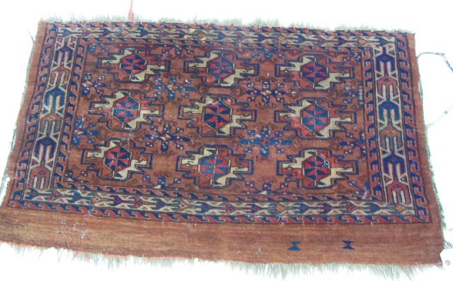 Antique Bukara rug