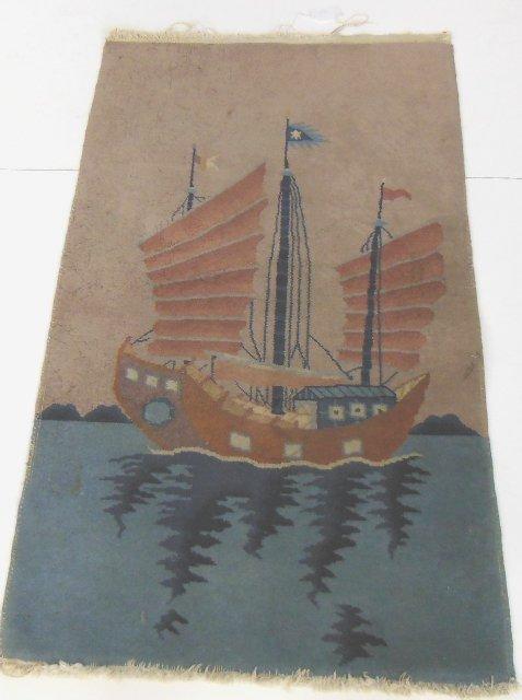 Handmade Chinese rug ca. 1930's