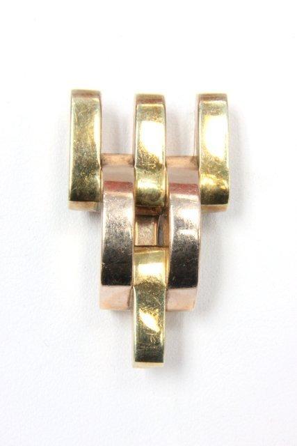 14kt gold Cartier buckle