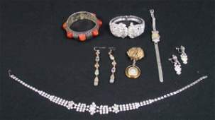 Group lot of costume jewelry