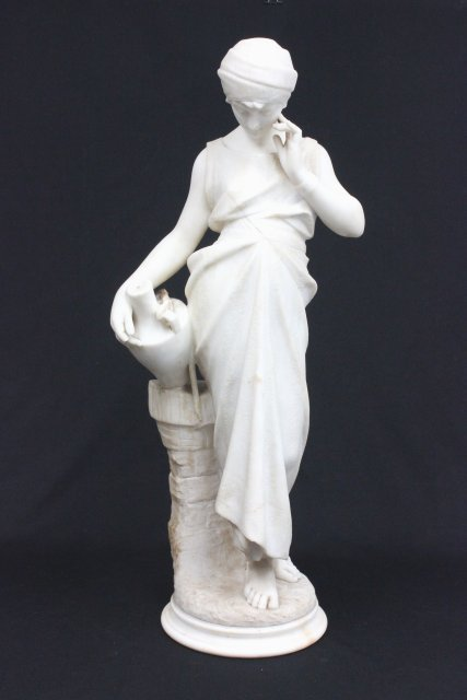 19th c. Amphora marble signed G. Pugi Florence