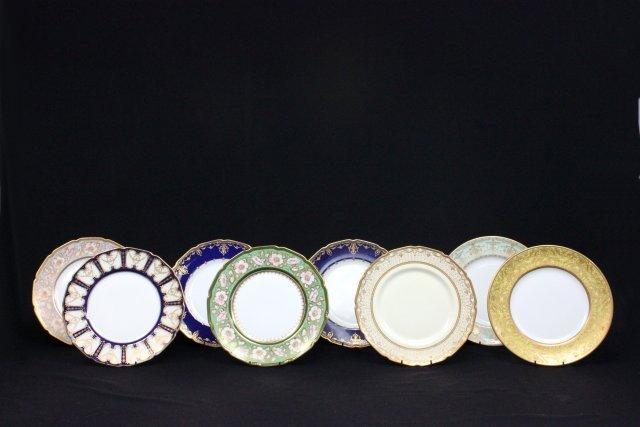 8 Royal Doulton plates