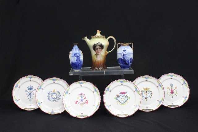 Ceramic lot of 9 pieces