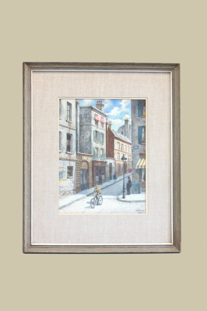 Henry Gasser watercolor painting
