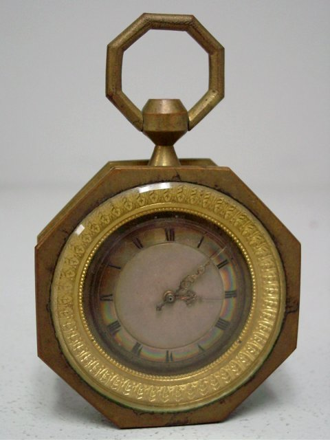 Late 18th c. French Empire 1/4 repeater clock