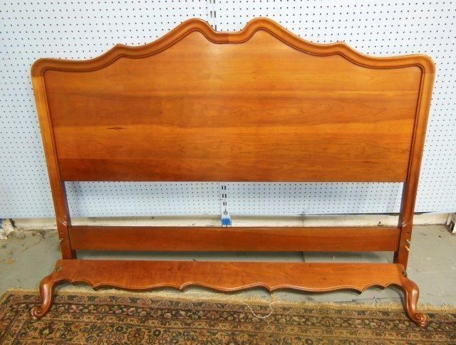 Queen size mahogany headboard & foot board
