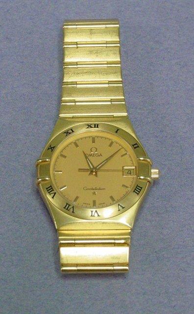 Omega Constellation men's wrist watch