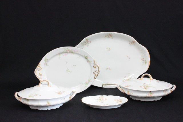 Limoges serving pieces