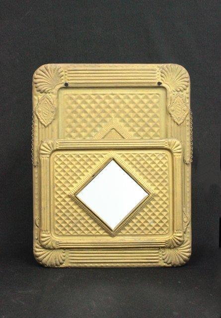 Brass mail holder