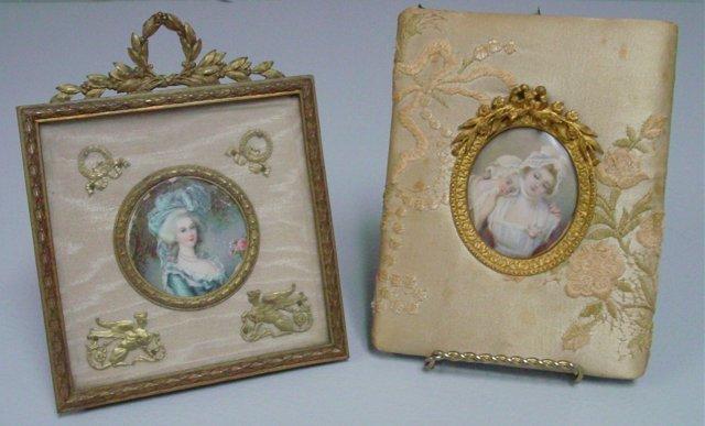 2 Miniature paintings
