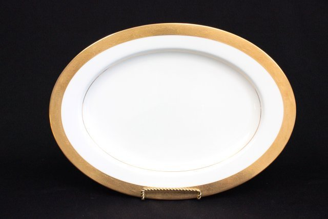 "Mikasa bone China dinnerware set ""Harrow"" pattern - 3"