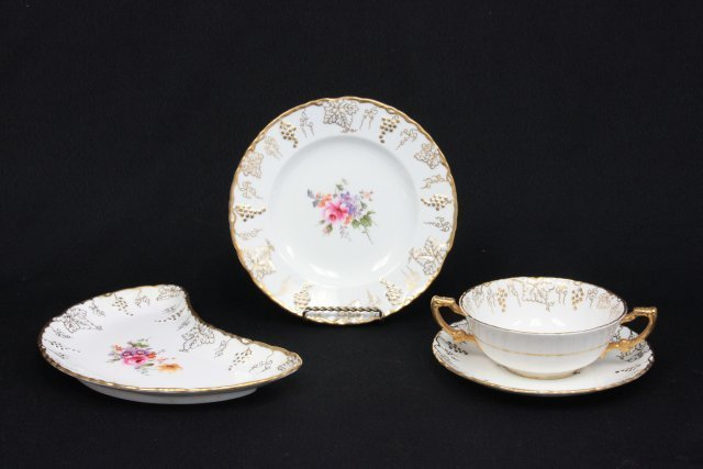 Set of Royal Crown Derby dishes