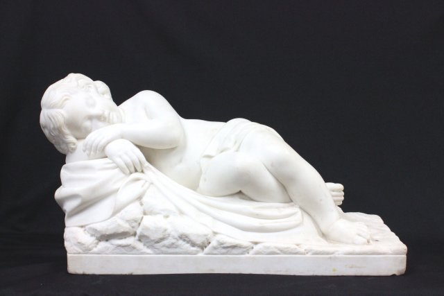 19th C Marble sculpture