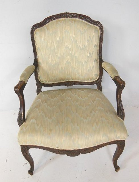 French style fauteuil