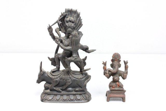 2  Indian bronzes