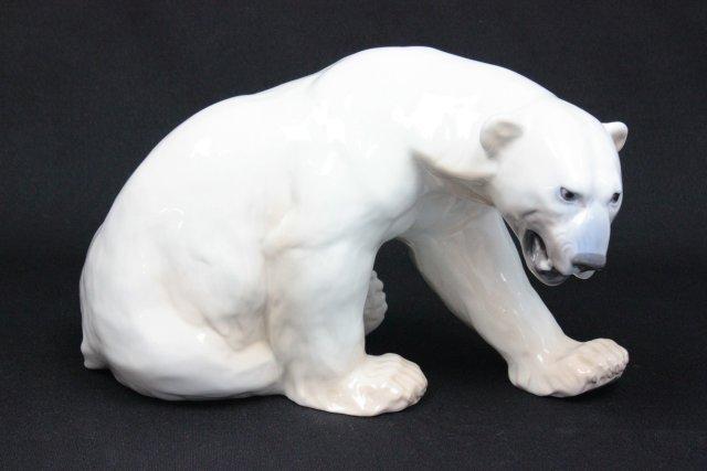 B&G Copenhagen Denmark glazed porcelain sculpture