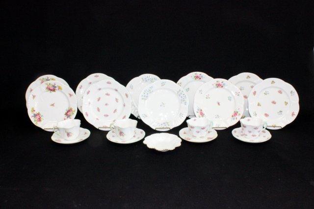 Group lot of porcelain Shelley England