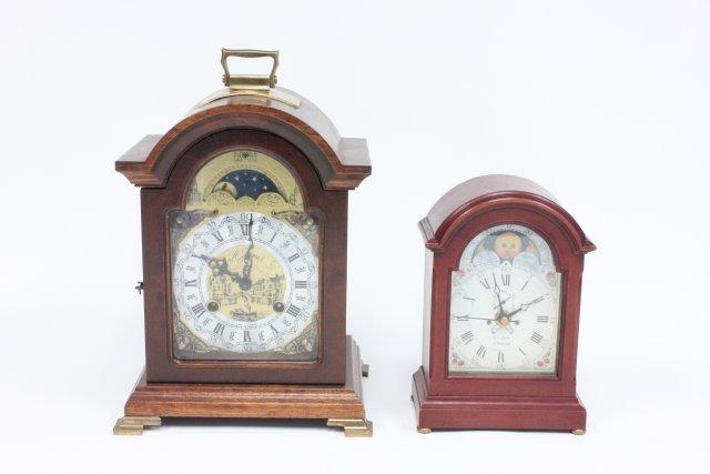 2 mantle clocks