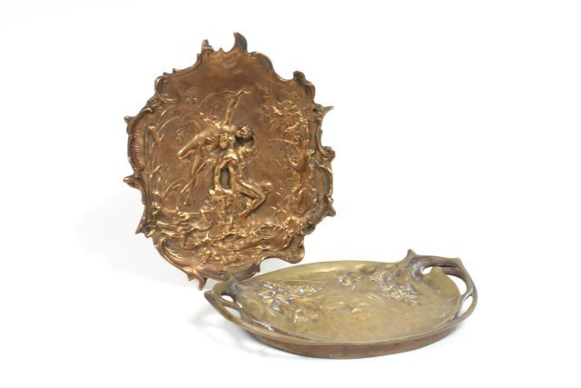 2 bronze pieces