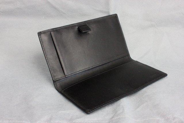 Gucci leather clutch purse & Coach checkbook cover - 6