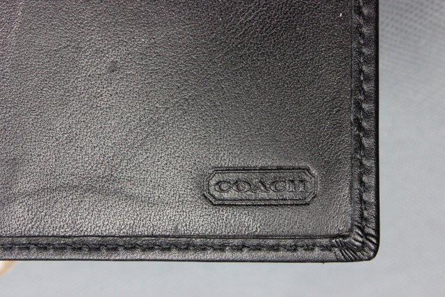 Gucci leather clutch purse & Coach checkbook cover - 7
