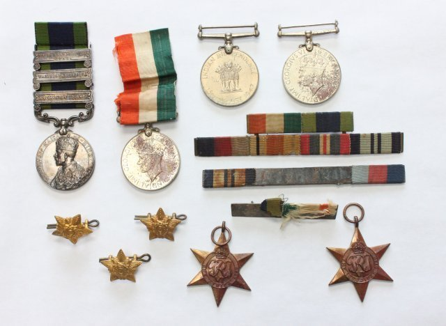 Military medals lot