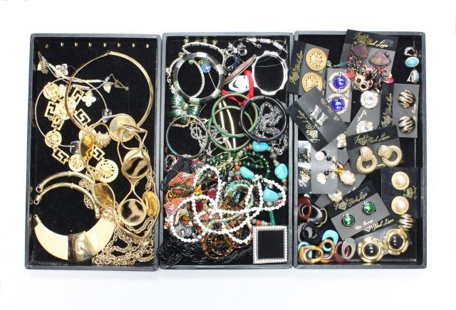 Large group lot of costume jewelry
