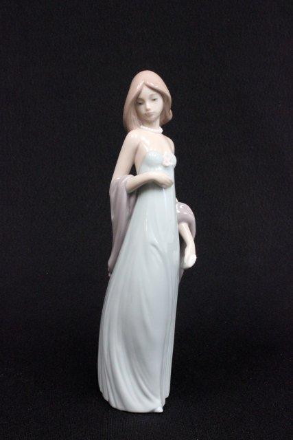 Lladro lady figure