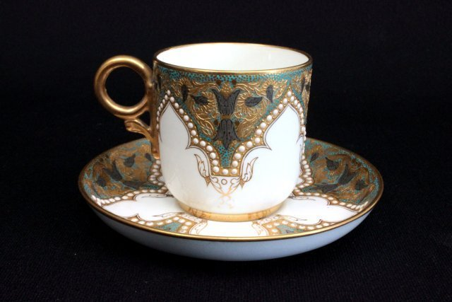 Jeweled Worcester cup