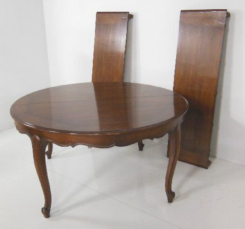 Country French dining room table