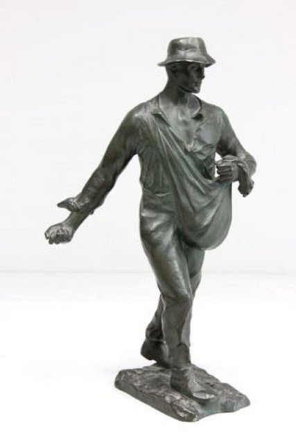 Bronze by Ernst Beck  ca. early 1900's