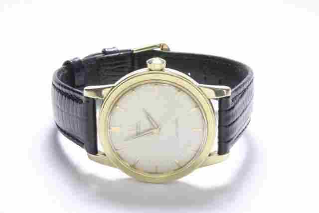 Men's 14kt gold Omega automatic wristwatch