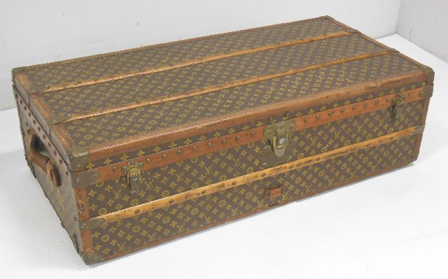 Louis Vuitton cabin trunk with fitted interior