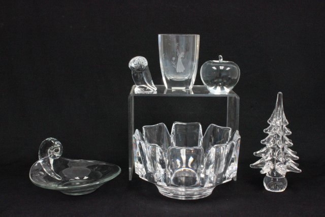 6 pieces of crystal