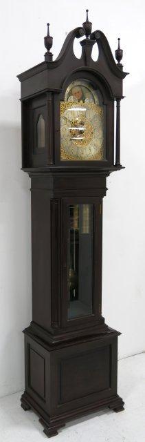 Shreve, Crump & Low Co. Grandfather's clock - 2