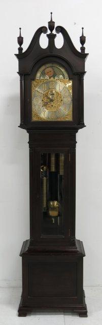Shreve, Crump & Low Co. Grandfather's clock - 3