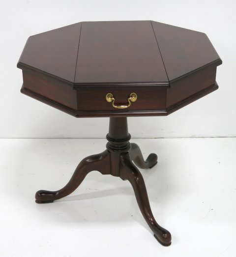 Henkel Harris mahogany escritoire table