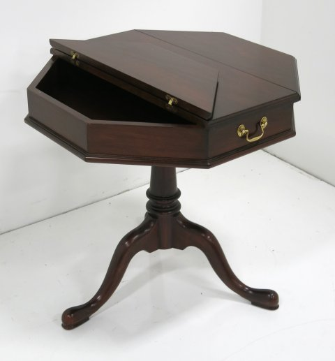 Henkel Harris mahogany escritoire table - 2