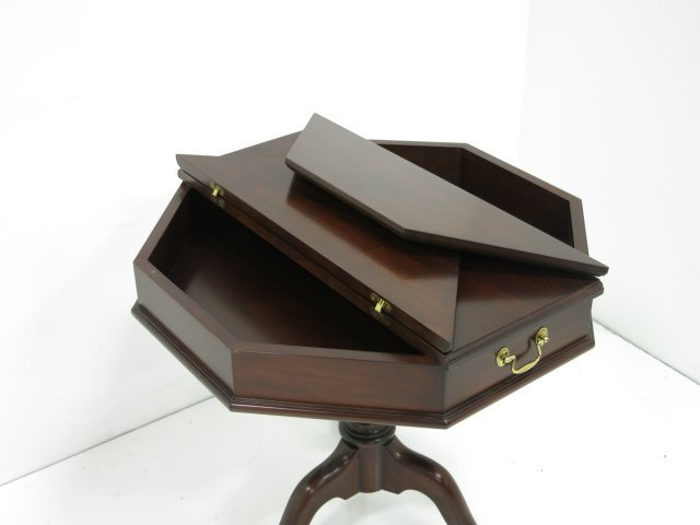 Henkel Harris mahogany escritoire table - 4