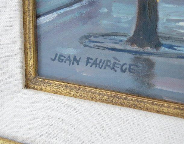 Jean Faurege, Paris Night Scene - 3