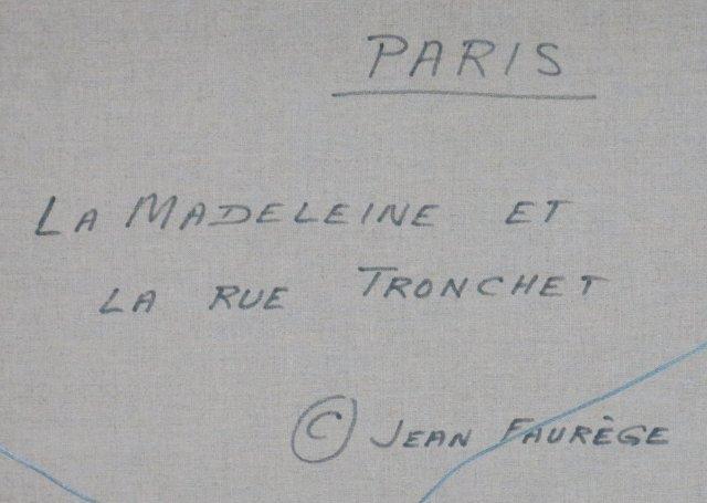Jean Faurege, Paris Night Scene - 5
