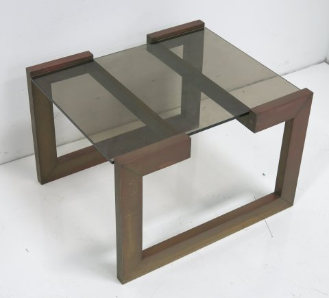 Willy Rizzo Coffee Table.Willy Rizzo For Cittone Oggi Afedo Side Table