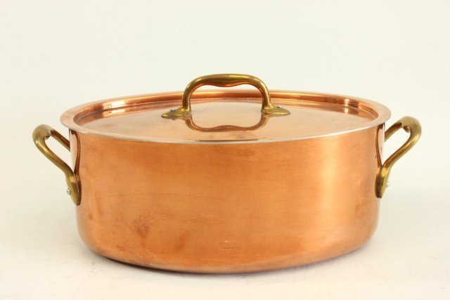 Group of Belgian copper cookware by Judge - 3