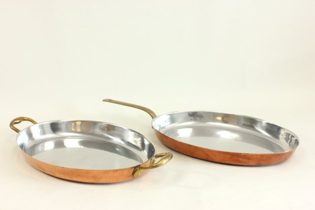 Group of Belgian copper cookware by Judge - 4