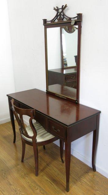 Regency style R Way Mahogany Bedroom Set - 2