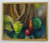 Marjorie Kolbe, Still Life with Teapot