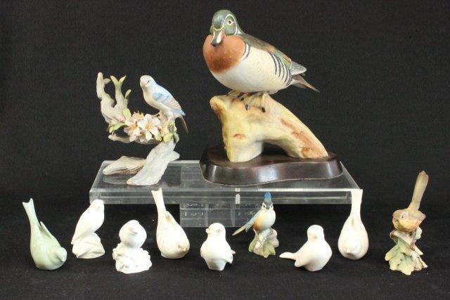 Lot of 11 Bird Figures