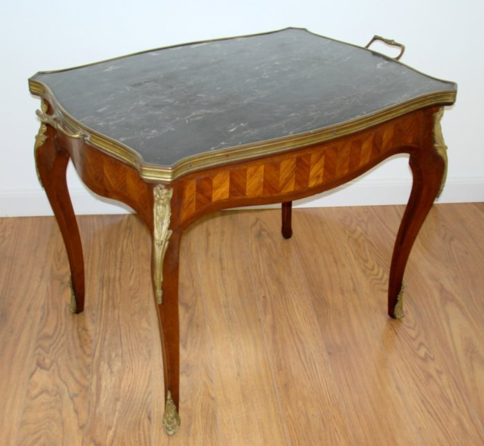Louis XV style Brass Mounted Coffee Table